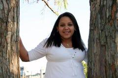 Adolescente femenino feliz Fotografía de archivo libre de regalías