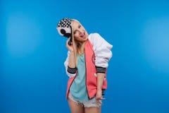 Adolescente femenino feliz Foto de archivo