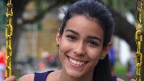 Adolescente femenino hermoso Foto de archivo libre de regalías