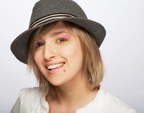 Adolescente femenino hermoso joven Fotografía de archivo