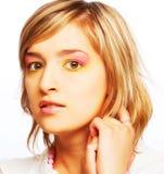 Adolescente femenino hermoso joven Foto de archivo libre de regalías
