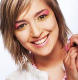 Adolescente femenino hermoso joven Fotos de archivo libres de regalías