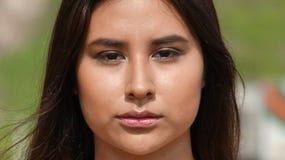 Adolescente femenino hispánico Foto de archivo libre de regalías
