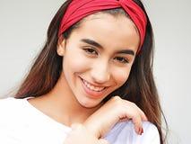 Adolescente femenino lindo Imagen de archivo libre de regalías