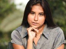 Adolescente femenino y belleza Foto de archivo