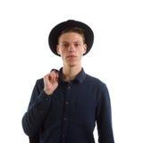 Adolescente formal moderno Fotografía de archivo
