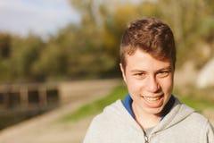 Adolescente fresco con cincuenta años Fotografía de archivo