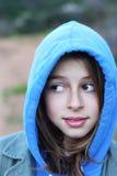 Adolescente fresco con sudadera con capucha Imágenes de archivo libres de regalías
