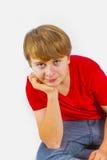Adolescente fresco de los jóvenes del ocio Fotografía de archivo