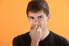 Adolescente frustrada Imagen de archivo libre de regalías