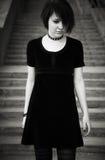 Adolescente gótico Imagen de archivo