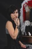 Adolescente gótico Foto de archivo libre de regalías