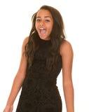 Adolescente gritando Imagens de Stock