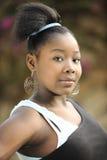 Adolescente haitiano hermoso Imagen de archivo