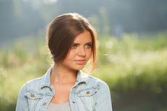 Adolescente hermoso al aire libre Imagen de archivo