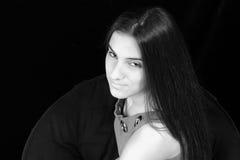 Adolescente hermoso con actitud Fotografía de archivo