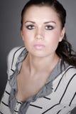 Adolescente hermoso con la fascinación Foto de archivo