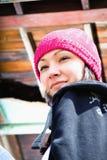 Adolescente hermoso con un sombrero Imagenes de archivo