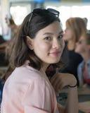 Adolescente hermoso de Amerasian Fotos de archivo libres de regalías