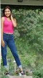 Adolescente hermoso de la muchacha Fotografía de archivo