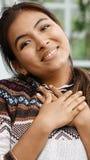 Adolescente hermoso en amor Imágenes de archivo libres de regalías
