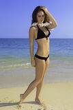 Adolescente hermoso en bikini Fotografía de archivo libre de regalías