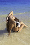 Adolescente hermoso en bikini Imagen de archivo