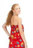 Adolescente hermoso en ropa casual Foto de archivo