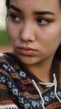 Adolescente hermoso impasible Imagen de archivo