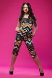 Adolescente hermoso joven en vestido Imagen de archivo libre de regalías