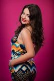 Adolescente hermoso joven en vestido Foto de archivo libre de regalías