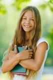 Adolescente hermoso sonriente Imagen de archivo libre de regalías
