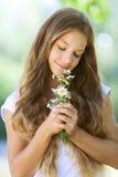 Adolescente hermoso sonriente Foto de archivo libre de regalías