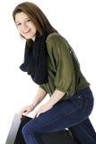 Adolescente hermoso y feliz Imagen de archivo libre de regalías