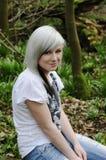 Adolescente heureuse Photos libres de droits