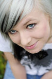 Adolescente heureuse Photographie stock libre de droits
