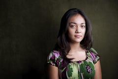 Adolescente hispánico bonito Fotografía de archivo libre de regalías