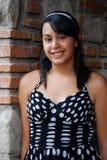 Adolescente hispánico hermoso Imagen de archivo libre de regalías