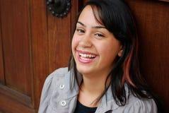 Adolescente hispánico hermoso Imágenes de archivo libres de regalías
