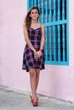 Adolescente hispánico hermoso Imagen de archivo