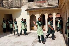Adolescente indiano Fotografia Stock Libera da Diritti