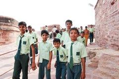 Adolescente indiano Immagine Stock
