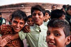 Adolescente indiano Fotografie Stock