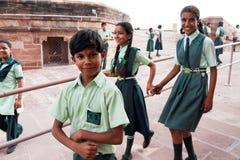 Adolescente indiano Fotografia Stock