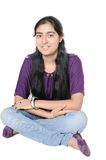 Adolescente indio. Foto de archivo libre de regalías