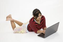 Adolescente indio Foto de archivo libre de regalías