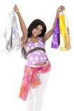 Adolescente indio de las compras Fotos de archivo libres de regalías
