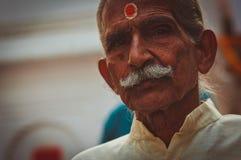 Adolescente indio hermoso Fotografía de archivo