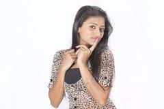 Adolescente indio hermoso Foto de archivo libre de regalías