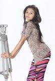 Adolescente indio hermoso Imagenes de archivo